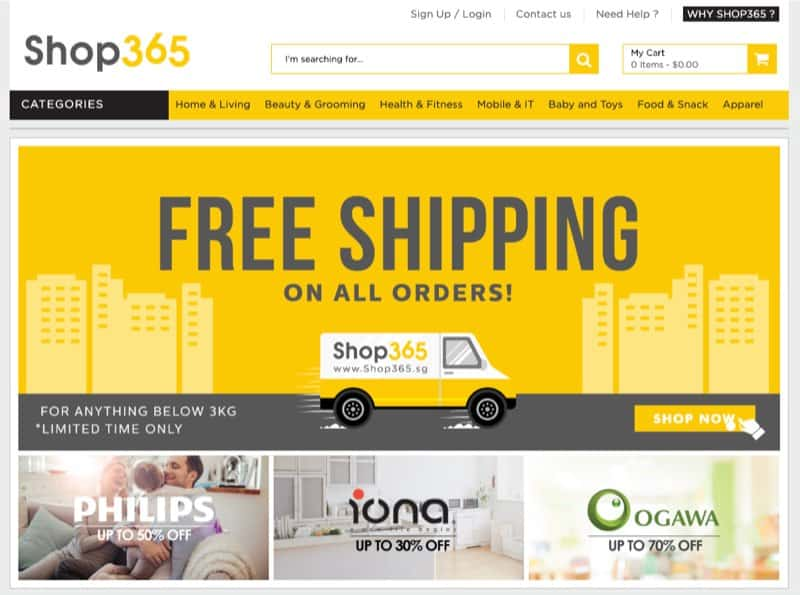 online home and living store sg