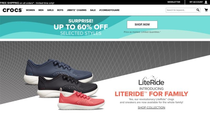 online shoes store singapore