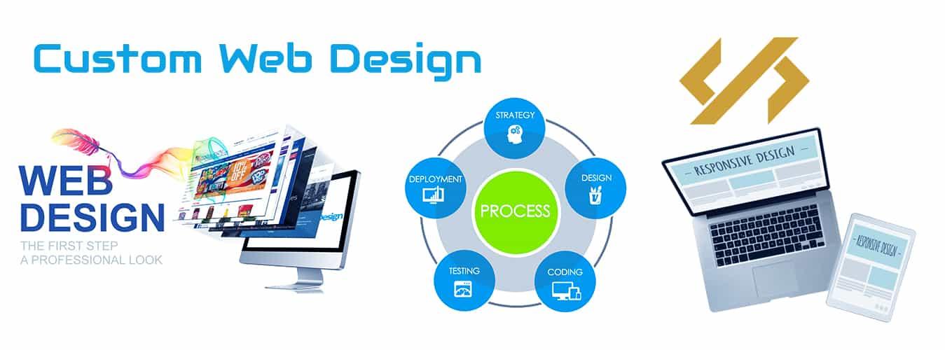 custom branded website