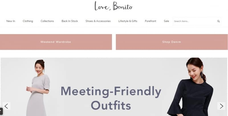 online fashion ecommerce platform