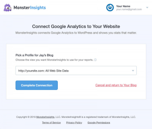 Configuring-MonsterInsights