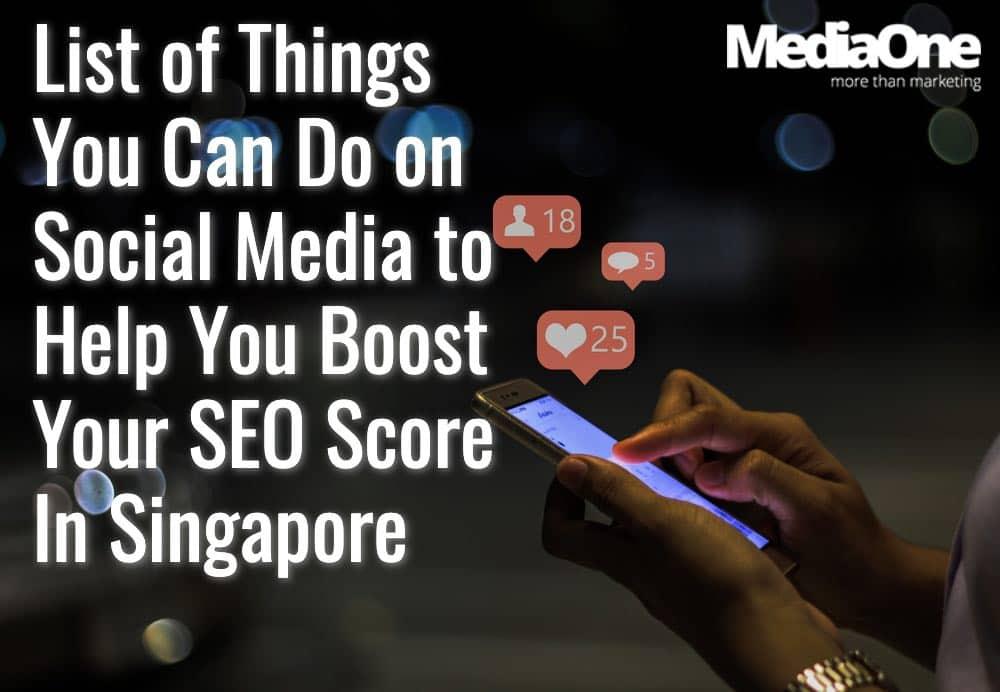 social media to boost seo