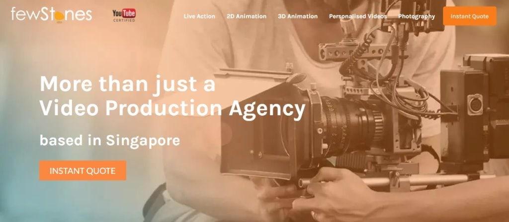 FewStones Singapore's Top Full Service Web Agencies