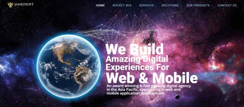 Jankosoft Singapore's Top Full Service Web Agencies