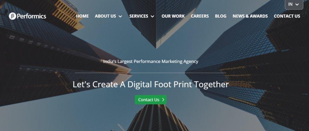 Performics Singapore's Top Full Service Web Agencies
