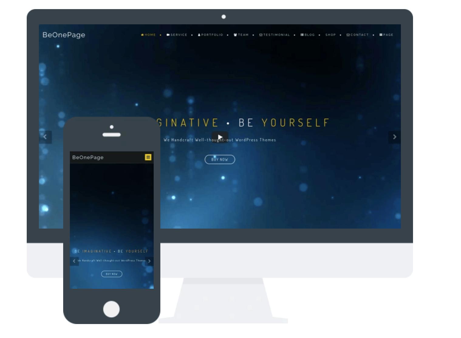 BeOnePage Lite
