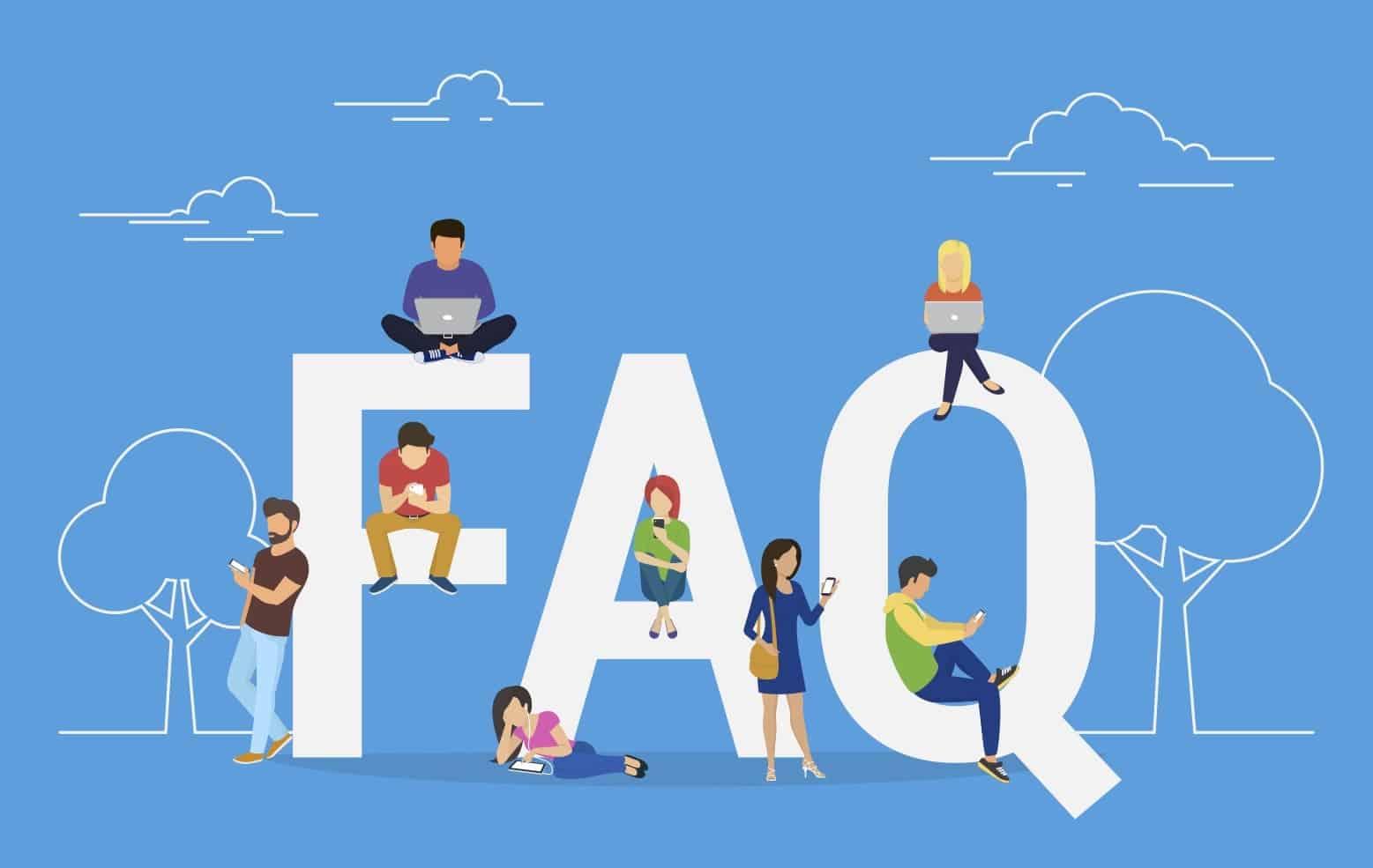 high-converting FAQ page