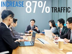 seo increased traffic for accounting firm