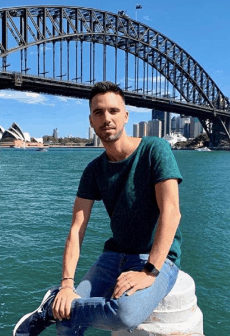 Dan Lourenco dancer influencer Singapore
