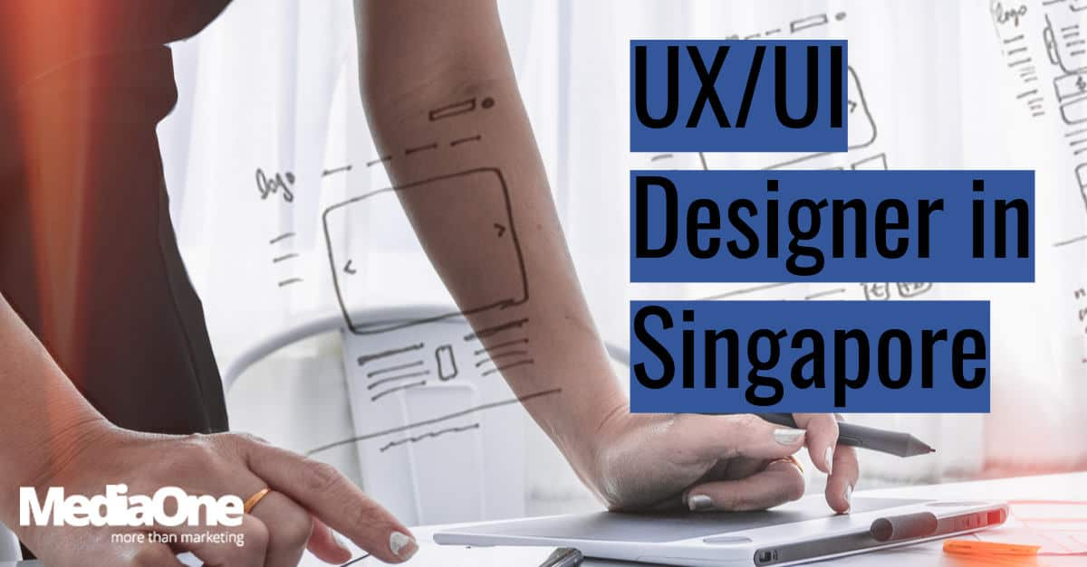 UX designer in Singapore