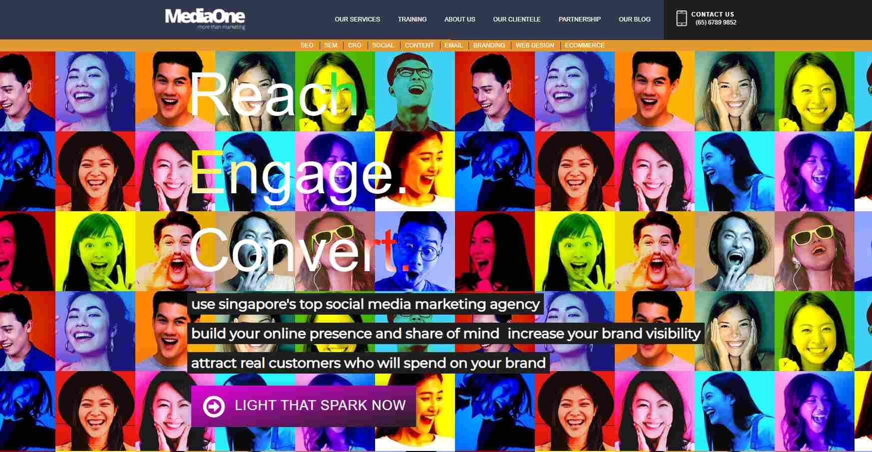 mediaone 15 Top Facebook Marketing Agencies in Singapore