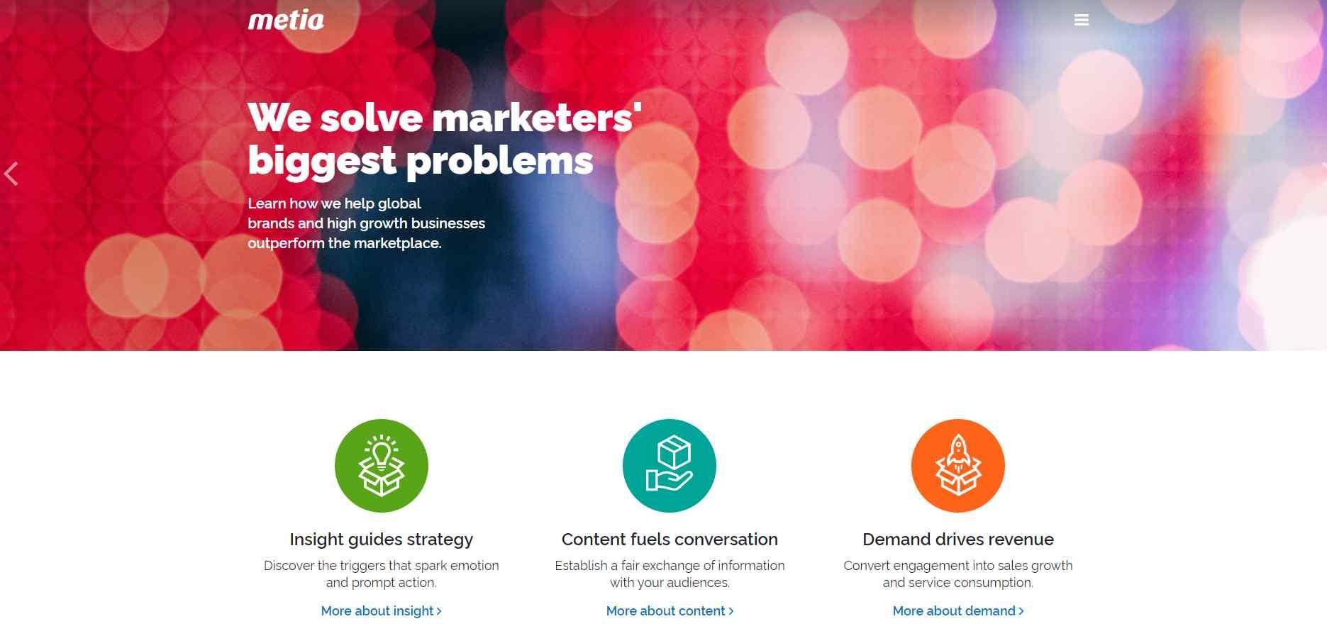 metia 15 Top Facebook Marketing Agencies in Singapore