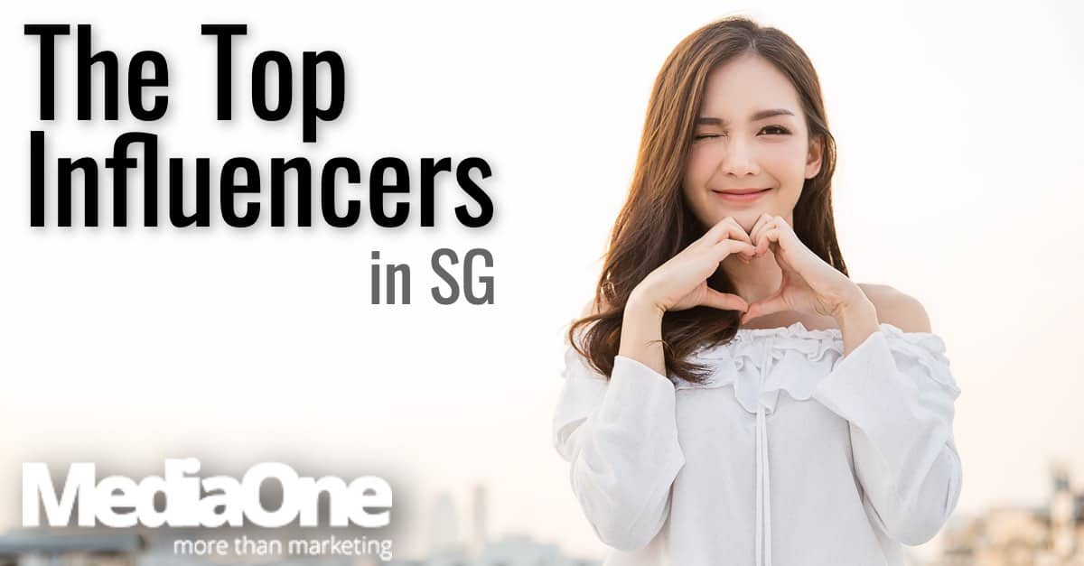 who are the top singapore influencers
