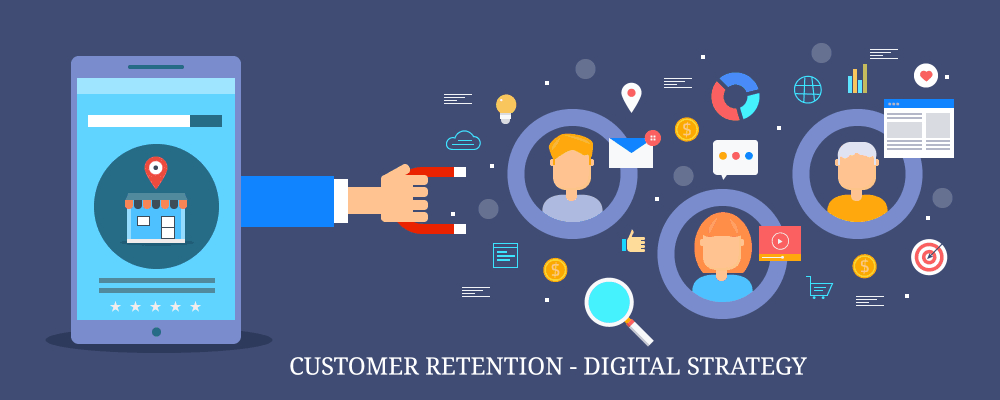 customer retention digital strategy