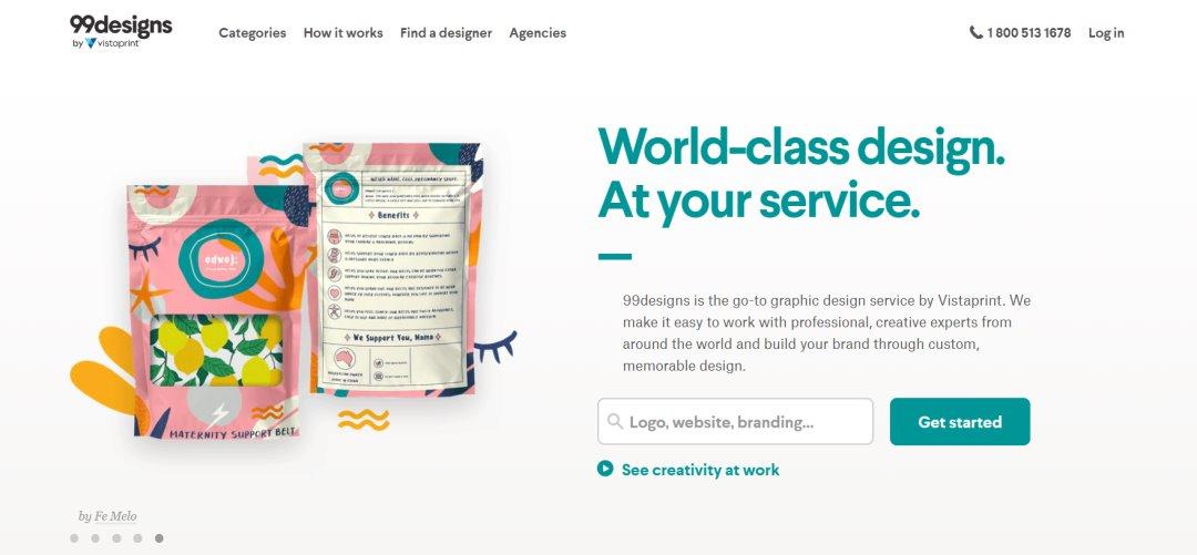 99designs 33 Websites to Hire a Freelance Designer