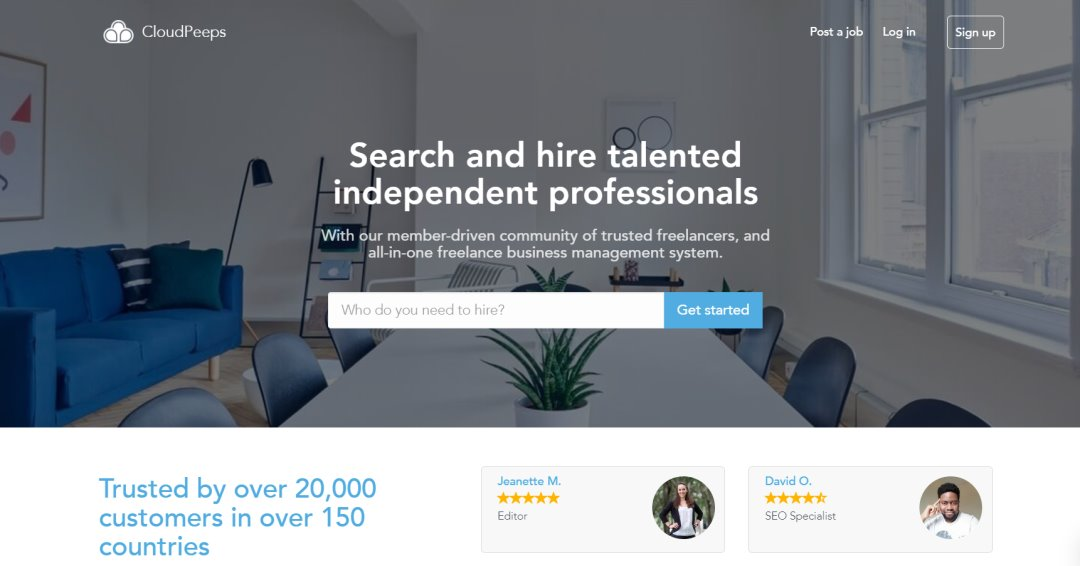 Cloudpeeps 33 Websites to Hire a Freelance Designer