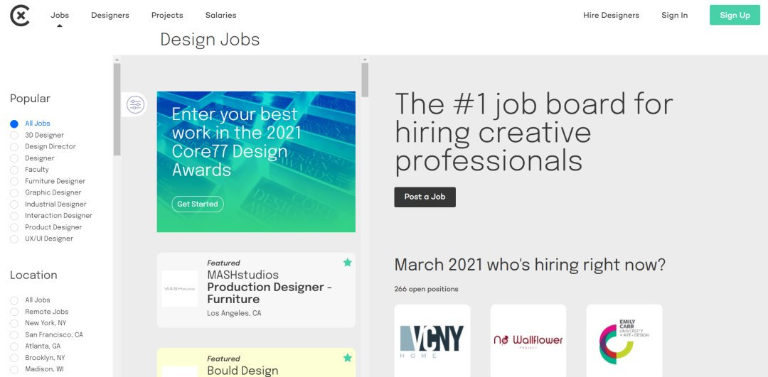 Coroflot 33 Websites to Hire a Freelance Designer