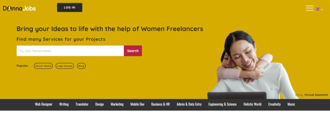 Donna Jobs 33 Websites to Hire a Freelance Designer