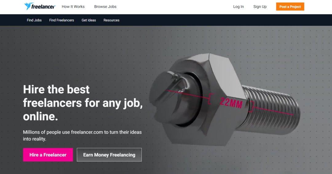FreeLancer 33 Websites to Hire a Freelance Designer