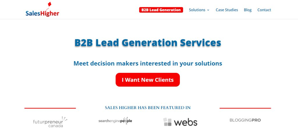 Sales Higher Top 10 Lead Generation Firms in Singapore