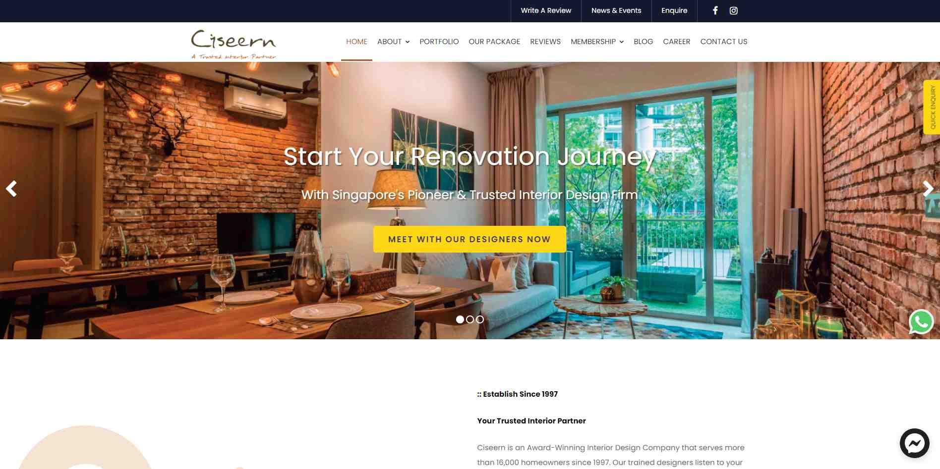 cissern Top Interior Design Firms In Singapore