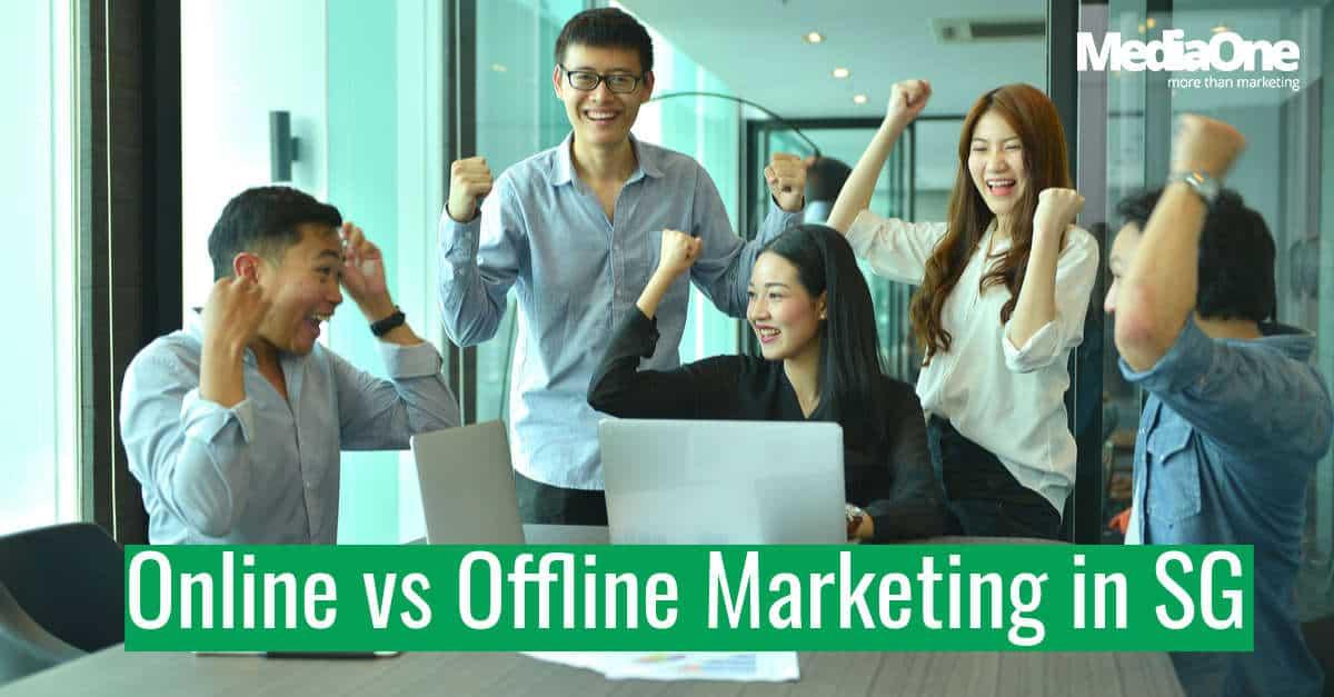 online vs. offline marketing