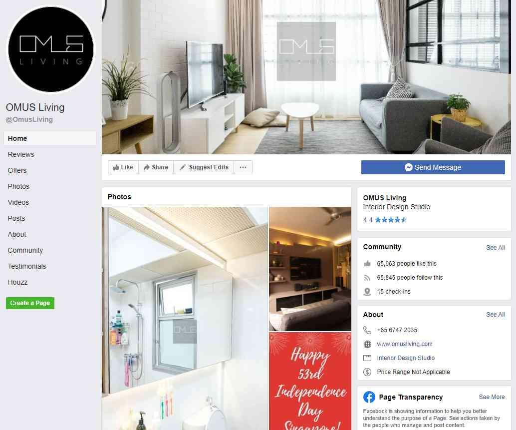 omus Top Interior Design Firms In Singapore