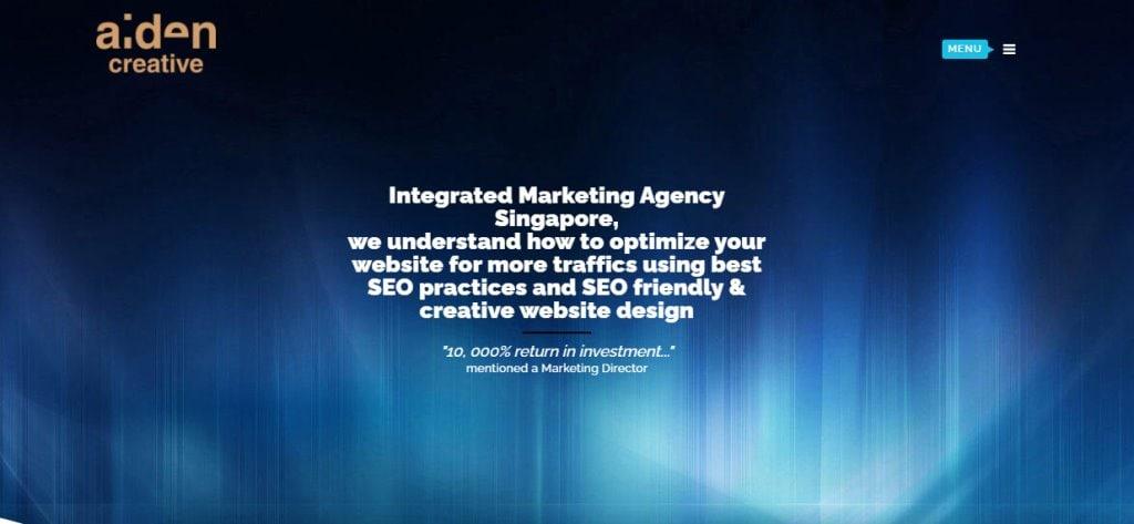 Aiden Creative Top Ad & Creative Agencies In Singapore