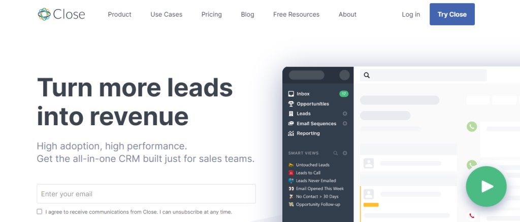 Close Best CRM Tools for Singapore Businesses