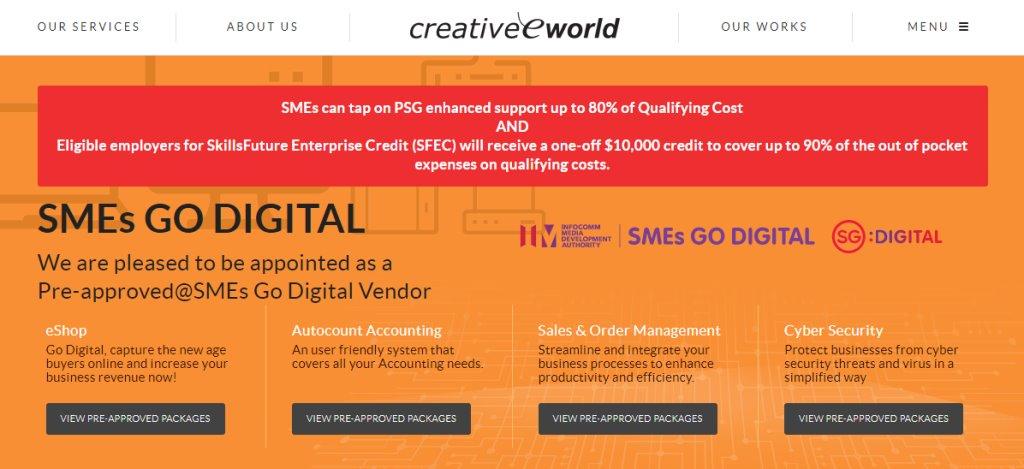 Creative E World Top Ad & Creative Agencies In Singapore