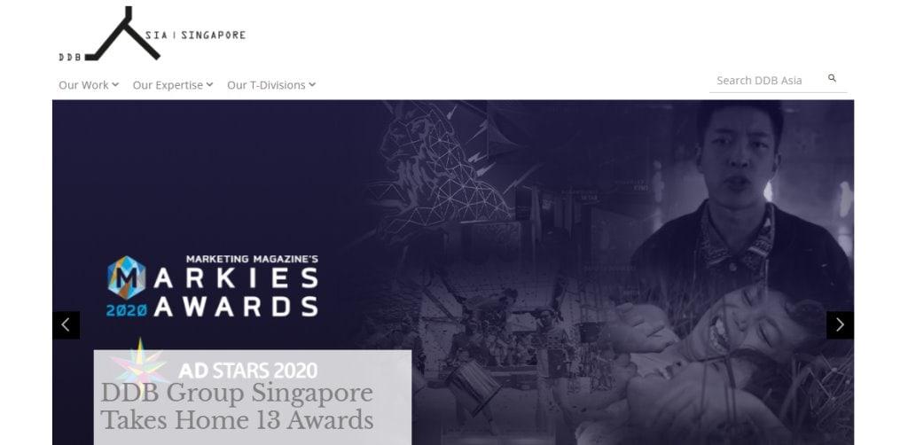 DBB Asia Top Ad & Creative Agencies In Singapore
