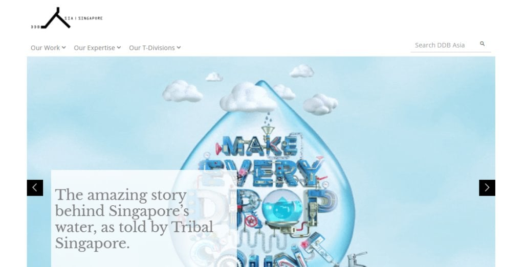 DDB Asia Top Ad & Creative Agencies In Singapore