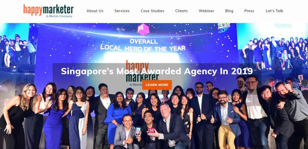 Happy MArketer Top Ad & Creative Agencies In Singapore