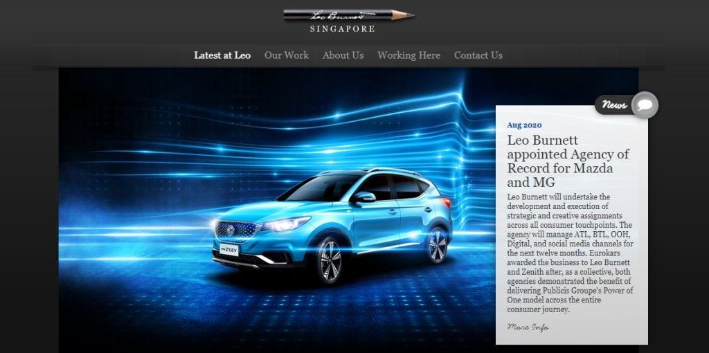 Leo Burnett Top Ad & Creative Agencies In Singapore
