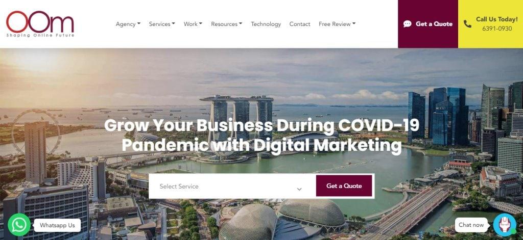 OOM Top Ad & Creative Agencies In Singapore