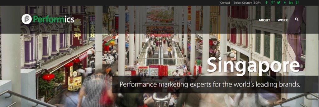 Performics Top Ad & Creative Agencies In Singapore