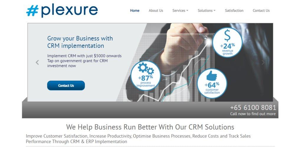 Plexure Best CRM Tools for Singapore Businesses