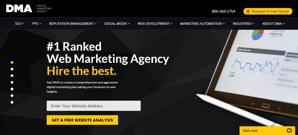 DMA Custom Web Design Services