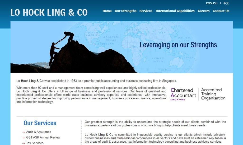 Lo Hock Top Consultants In Singapore