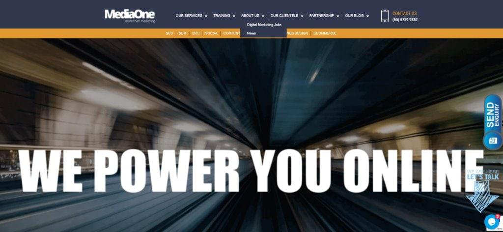 MediaOne Custom Web Design Services
