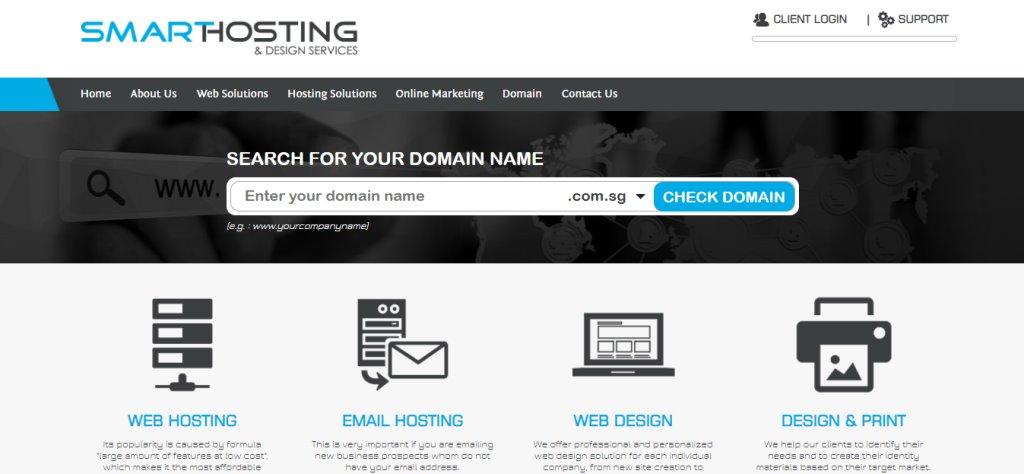 Smart Hosting Custom Web Design Services
