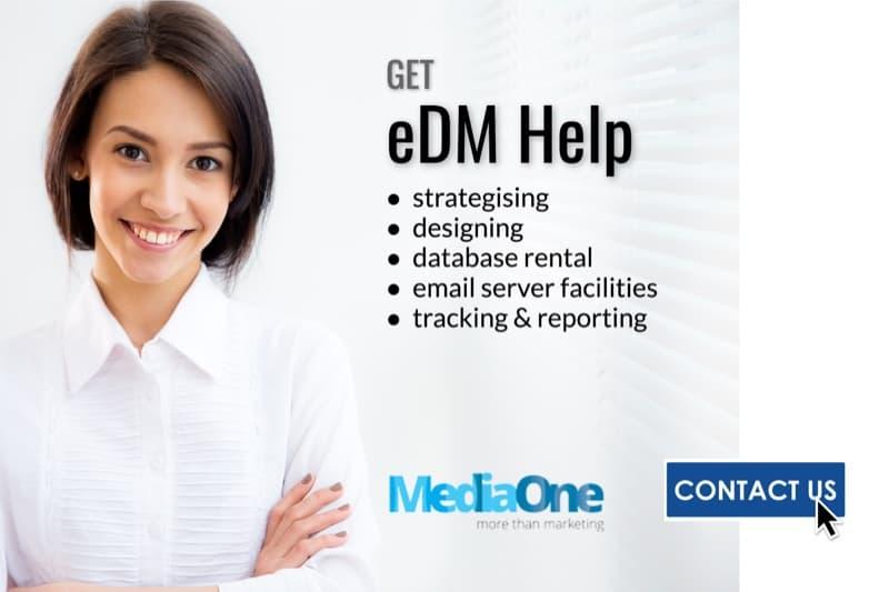 eDM services singapore