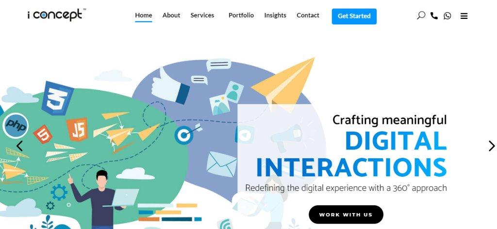 iConcept Custom Web Design Services