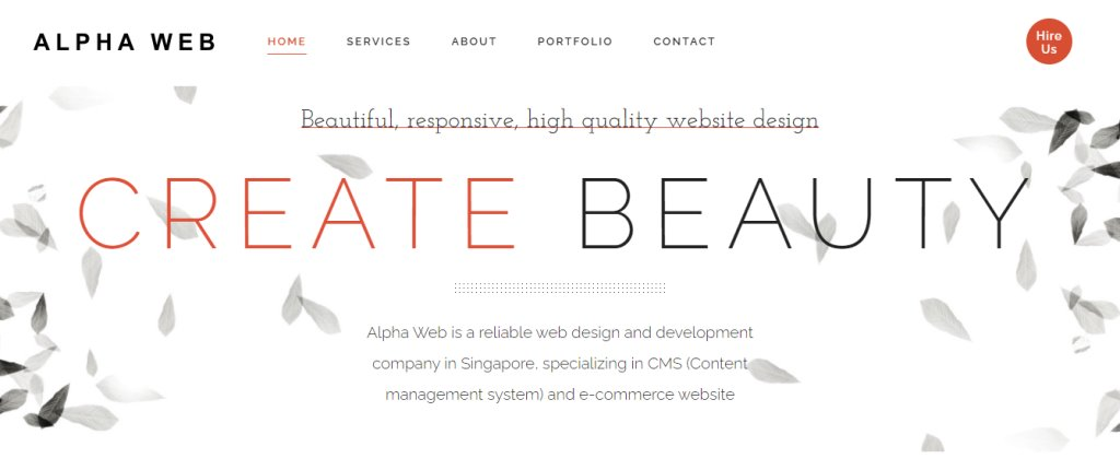 Alpha Web Top Ecommerce Developers in Singapore