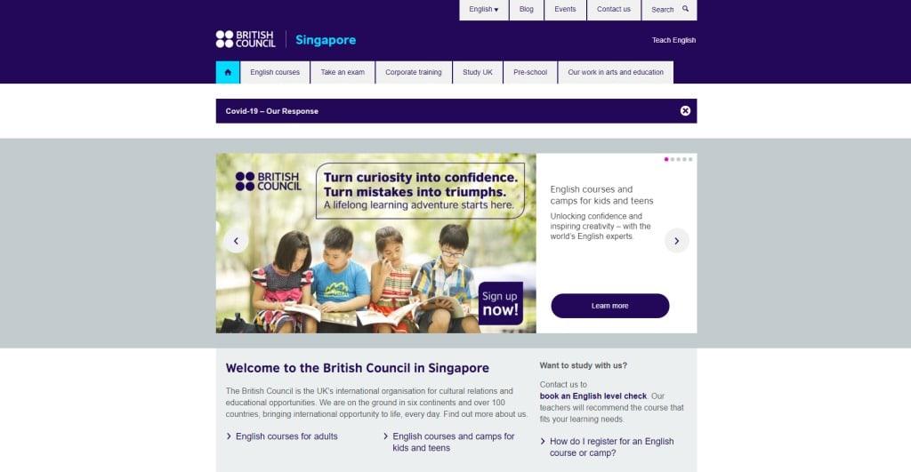 British Council Public Speaking Courses in Singapore