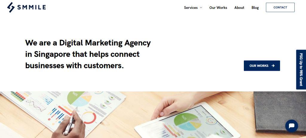 Smmile Top Corporate Design Agencies in Singapore