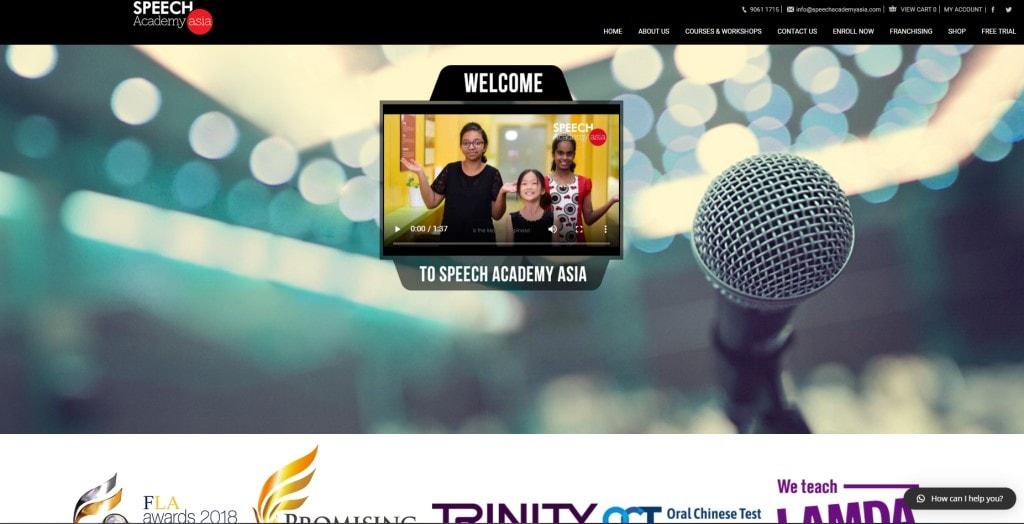 Speech academy Asia Public Speaking Courses in Singapore
