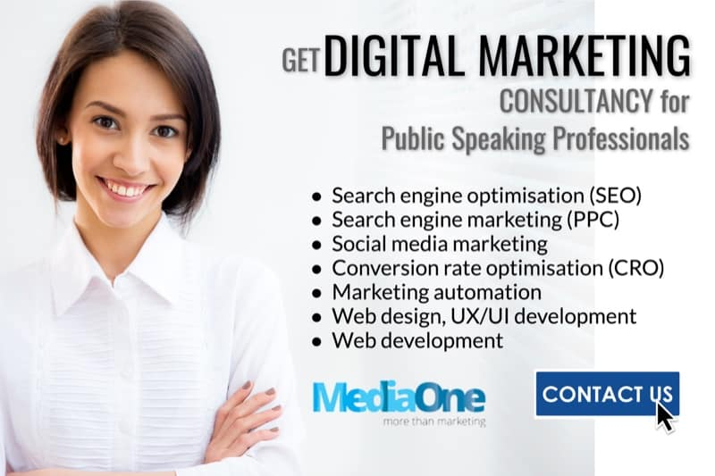 digital marketing for public speaking academies