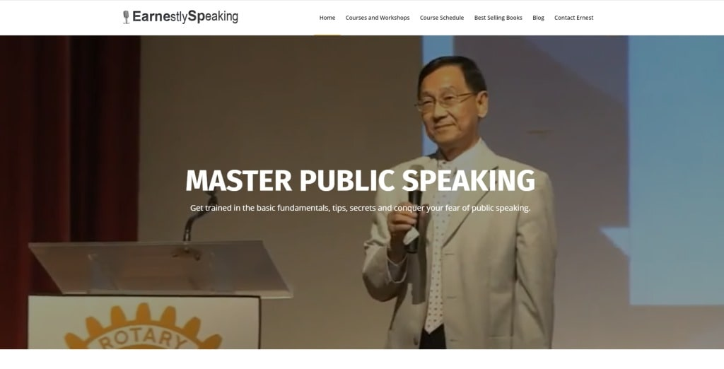earnestly Speaking Public Speaking Courses in Singapore