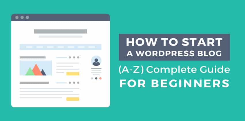 how to set up a WordPress blog